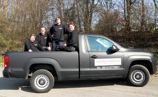 Das Team der Firma Schädlingsbekämpfung Schemeth GmbH in Dachau